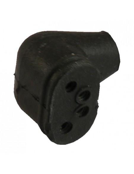 Coperchio Skull nero per filtro V02 Naked
