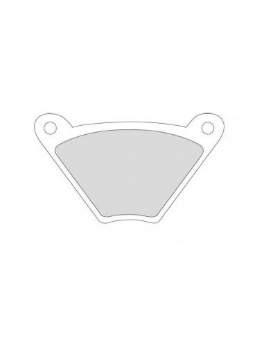 Specchietto Mini Oval sinistro cromo