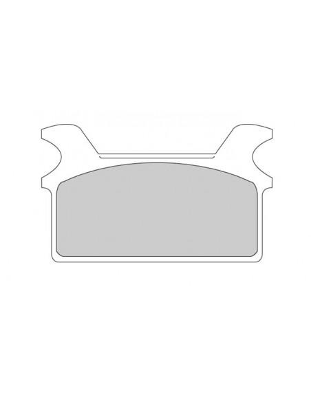 Specchietto Ness Scoop a Triangolo sinistro cromo