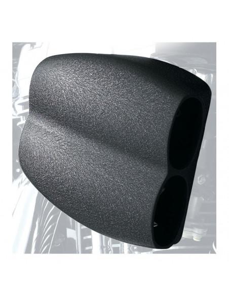 Coperture perno ruota posteriori nere