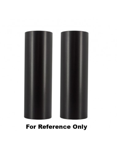 Copri Forcelle Straight nero lucido diam 49mm