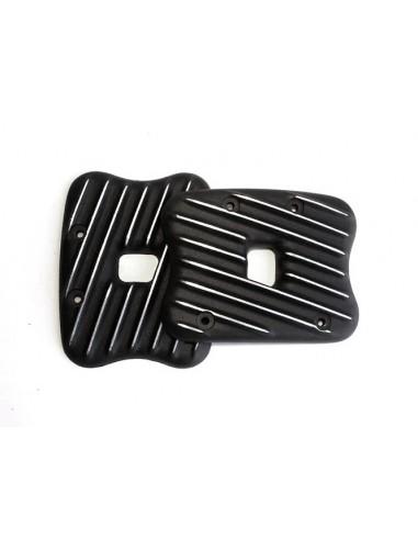 Coperchi Rocker Box Ribsters nero-cut