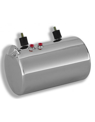 Serbatoio olio Custom rotondo laterali piatti - con filtro olio