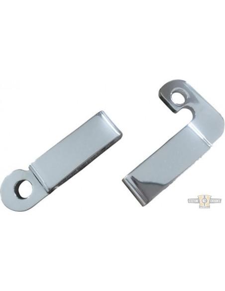 Pedaline Silencer - vendute in coppia cromo/satinate