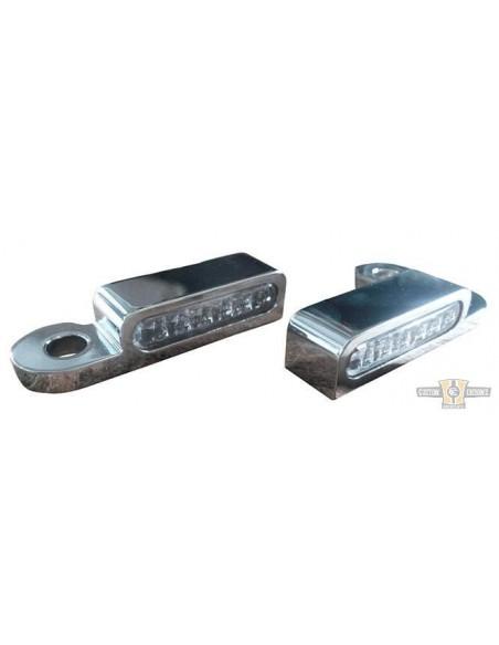 Pedaline Silencer HD - vendute in coppia cromo/satinate