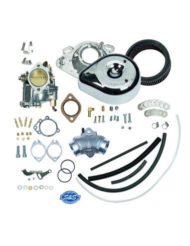 Carburatore S&S Super G - kit completo per FXR, Dyna, Softail e Touring dal 1993 al 1999 (eccetto a iniezione)