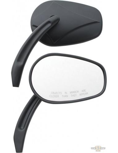 Specchietti testa freccia neri