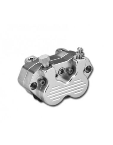 Pinza freno RST 4 pistoni posteriore - per forcelle strette - Lucida