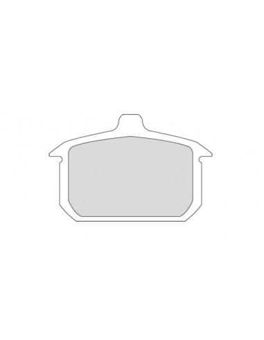 Pastiglie posteriori organiche per XL