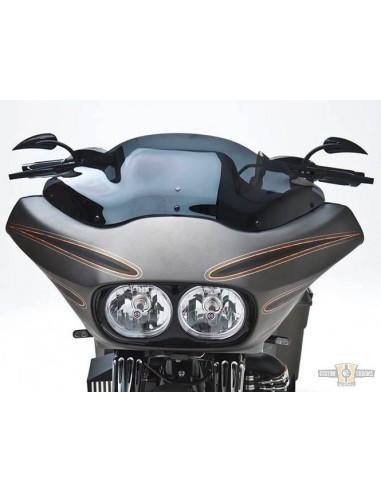 Specchietto Rad 2 a goccia destro nero