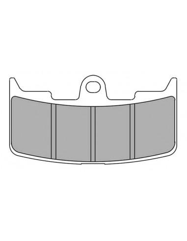 Pastiglie anteriori sinterizzate per Buell XB9S / XB9SX