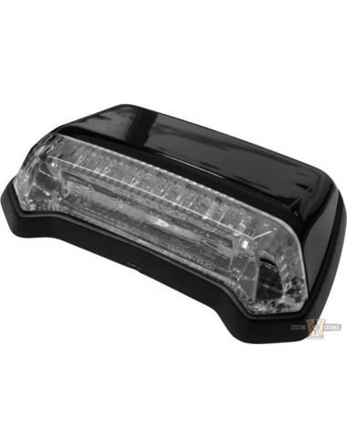 Faro posteriore LED omologato nero