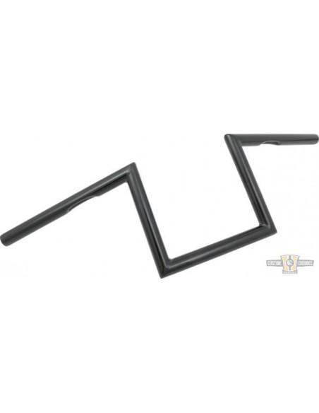 """Manubrio T Bar pullback 1-1/4"""" x 6"""" L 77cm crom, acc elettr, forato,"""