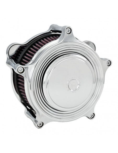 Portatarga laterale acciaio cromo con faro LED OMOLOGATO