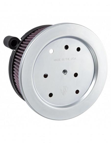 Pedane ovali universali guidatore con antivibrazioni shaker cromate