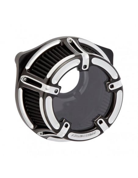Supporto filtro olio cromato - completo di filtro