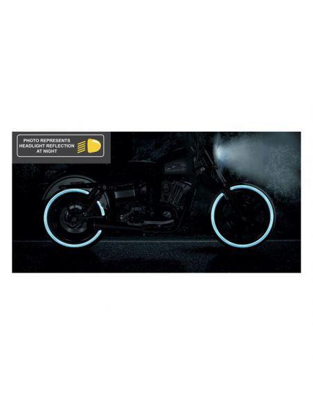 Coperture perno ruota anteriore cromate x Sportster