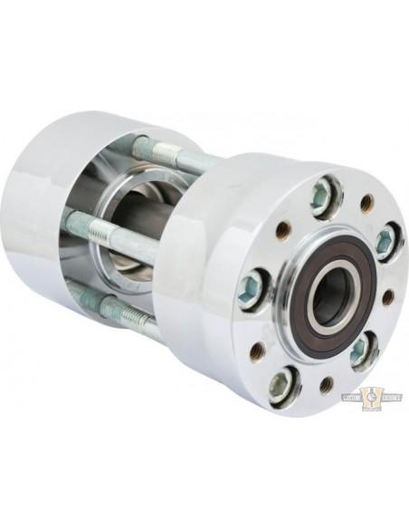 Coperchio bobina cromato per Softail 84-99