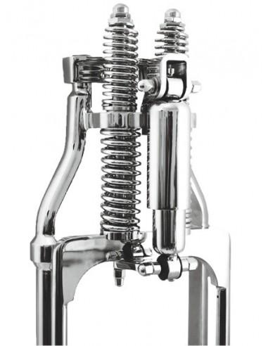 Ammortizzatore anteriore Springer kit cromato