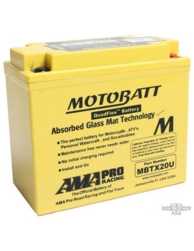 Batteria MOTOBATT - gialla SOFTAIL