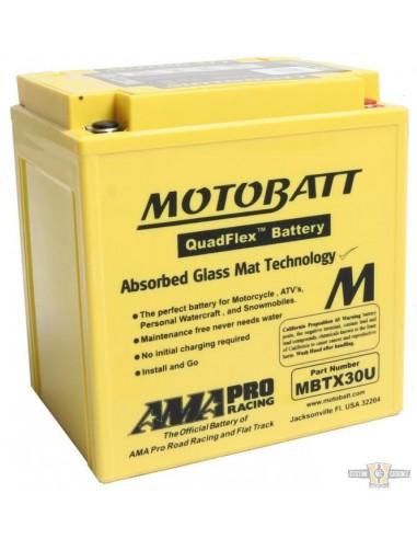 Batteria MOTOBATT - gialla TOURING