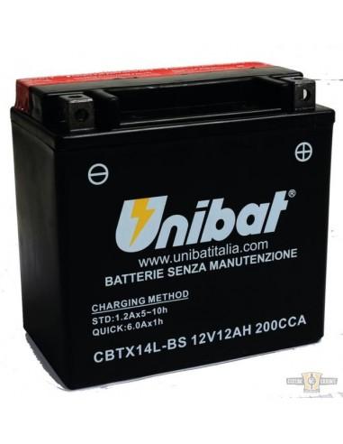 Batteria UNIBAT CBTX14L-BS SPORTSTER