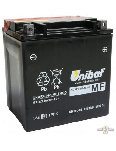 Batteria UNIBAT CIX30L-BS TOURING