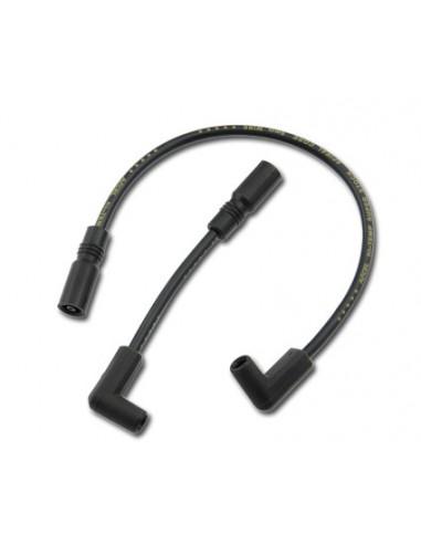 Cavi candele neri 8mm per Dyna 99-17